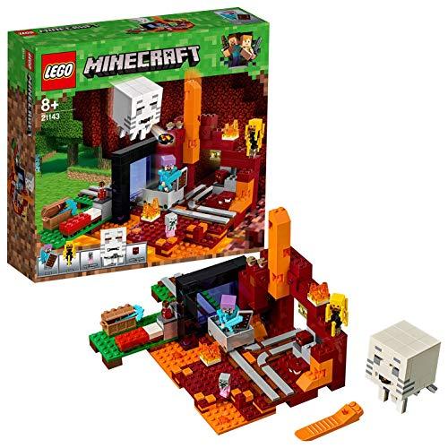 LEGO Minecraft 21143 'Netherportal' Konstruktionsspielzeug, bunt