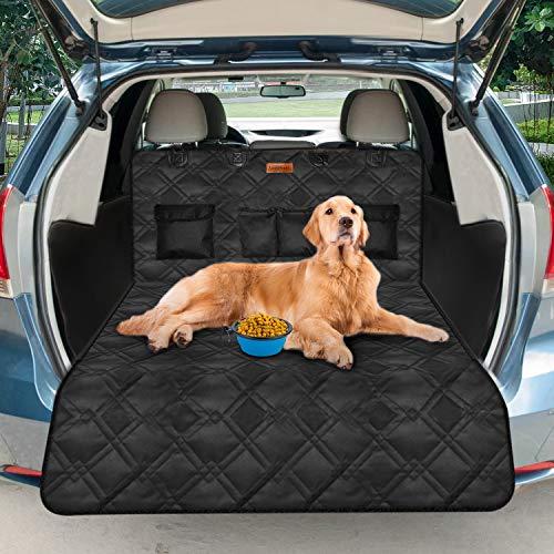 Looxmeer Kofferraumschutz Hunde mit Seitenschutz, Auto Kofferraum Universal Hundedecke,...