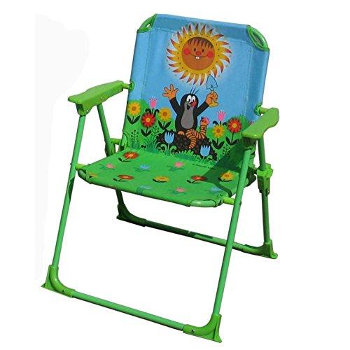 Wiky 170402'Der Kleine Maulwurf Gartenstuhl Klappstuhl für Kinder