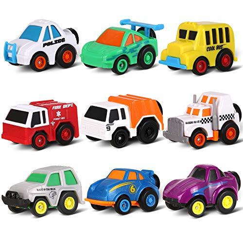 Aufziehautos Spielzeugautos, Toymus Verkehrsautos, Fahrzeuge/Rennwagen, Zurückziehen Spielzeugautos,...