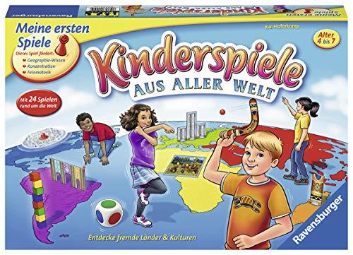 Ravensburger 21441 - Kinderspiele aus aller Welt - Spielesammlung für Kinder, 24 Minispiele für 2 bis 4...