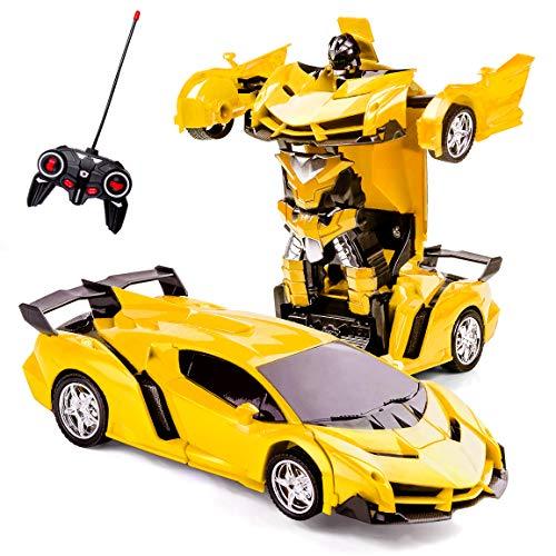 Highttoy Verformung Ferngesteuertes Auto für Kinder im Alter von 5-12, Transformers Spielzeug für...
