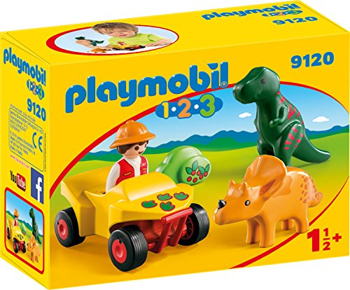 Playmobil 9120 - Dinoforscher mit Quad