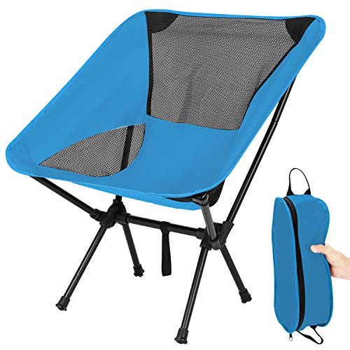TXIN Klappbarer Campingstuhl -Faltbar Camping Kinder Erwachsene Stühle-Outdoor Stuhl Für Rucksackreisen...