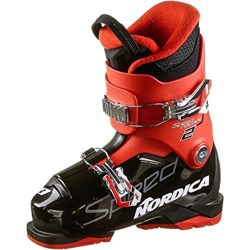 Nordica Kinder SPEEDMACHINE J 2 Skischuhe schwarz 22.5