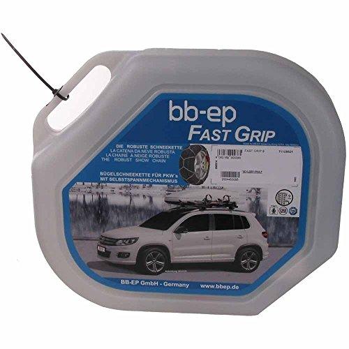 BB-EP Schneekette für Volkswagen Golf IV Variant mit der Reifengröße 195/65 R15 - MIT...