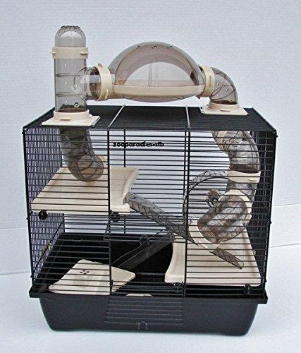 Nagerkäfig,Hamsterkäfig,Zwerghamsterkäfig, Rocky,Teddy Lux,Hamster,Maus,Nager,Käfig,Mäusekäfig...