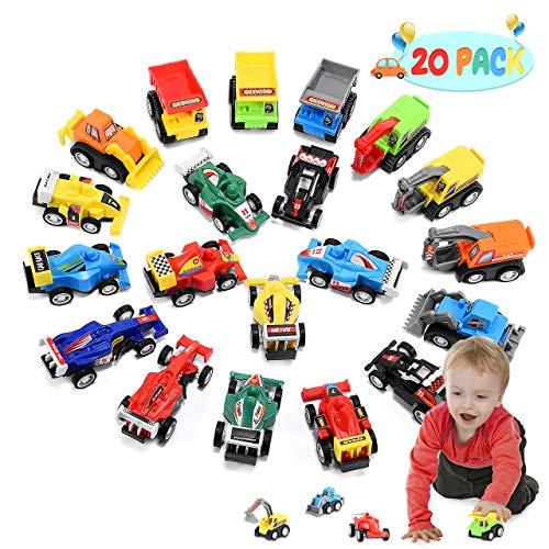ATOPDREAM Kleine Geschenke für Kinder, Spielzeugautos ab 1-4 Jahren Kinderspielzeug ab1-4 Jahre...