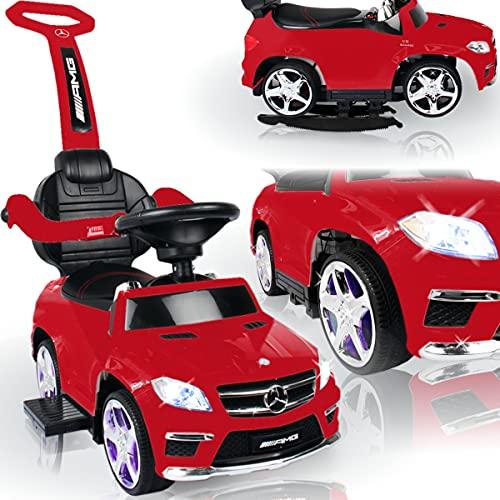 Kinder Mercedes Benz AMG Rutschauto mit Wippfunktion und MP3 Player (offiziell lizenziert) mit AKKU /...