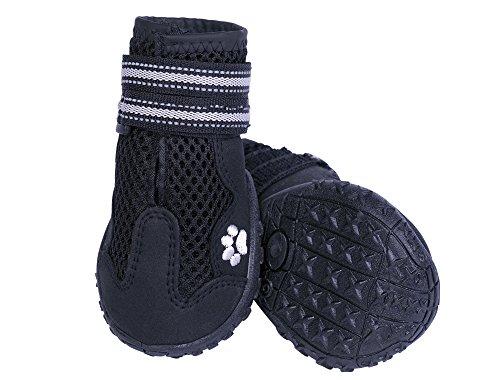 Nobby Hundeschuh 'Runners Mesh' 2 St schwarz Größe: XL (7) , L: 71 mm; B: 66 mm