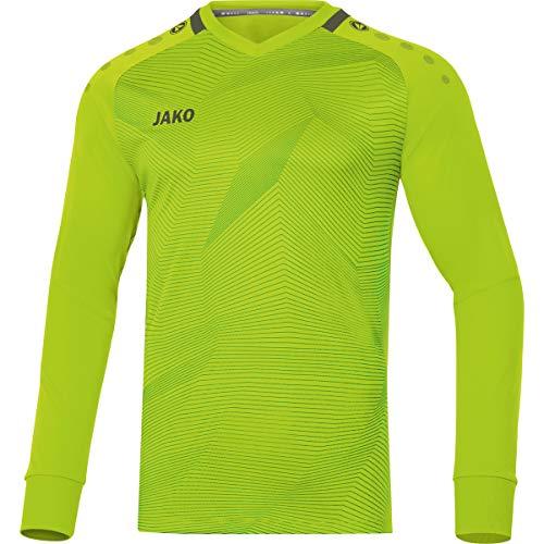 Jako Kinder Torwart-trikot Goal, neongrün/khaki, 140, 8910