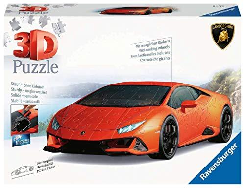 Ravensburger 3D Puzzle 11238 - Lamborghini Huracán EVO - 3D Puzzle für Erwachsene und Kinder ab 8...