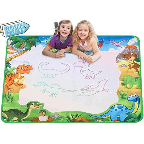Fanmad Aqua Magic Doodles Matte Spielzeug - XXL Größe 90x78 cm mit Wasserstift Wasser Spiele Geschenke...