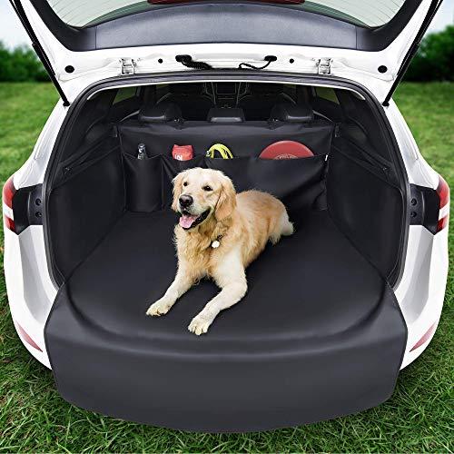 SYSTEMOTO Kofferraumschutz Hund mit Seitenschutz - Innovative Organizer Funktion - Universal Auto...
