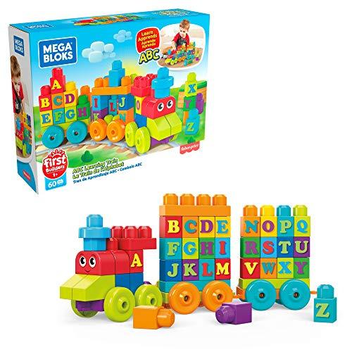 Mattel Mega Bloks DXH35 - ABC Lernzug