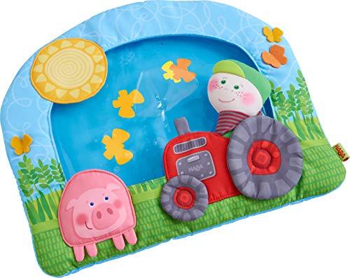 HABA 305222 - Wasser-Spielmatte Bauernhof, Spielmatte mit vielseitigen Spielelementen zur Förderung der...
