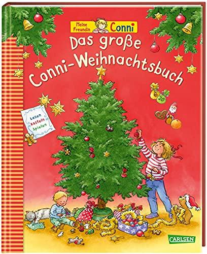 Das große Conni-Weihnachtsbuch: Vorlesebuch für Kinder ab 3 zum Lesen, Spielen, Singen und Basteln zur...