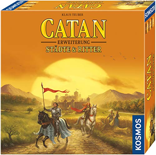 KOSMOS 695101 - CATAN - Städte & Ritter, Erweiterung zu CATAN - Das Spiel, Strategiespiel