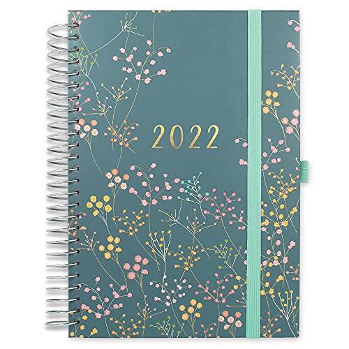 Boxclever Press Familienplaner Kalender 2022 A5. Familienplaner 2022 ab sofort nutzbar bis Dez '2022....