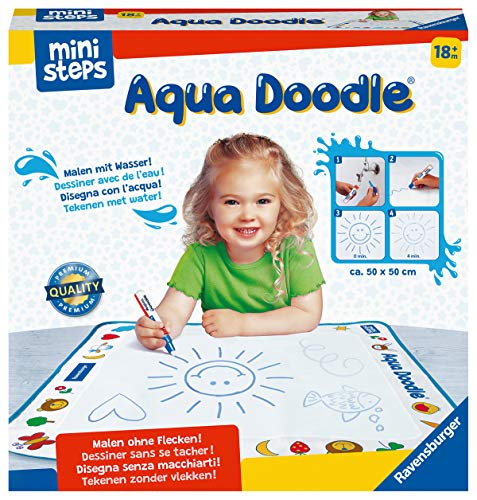 Ravensburger ministeps 4178 Aqua Doodle - Erstes Malen für Kinder ab 18 Monate, Malset für...