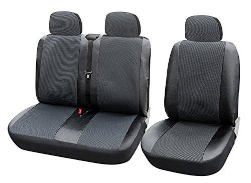 WOLTU AS7323 Universal Auto Sitzbezüge für Transporter, 1+2 Sitzbezug Schonbezüge aus Polyester & aus...