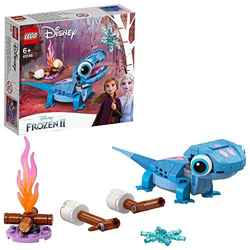 LEGO 43186 Disney Princess Frozen 2 Salamander Bruni, Spielzeug aus dem Film Die Eiskönigin 2 mit...