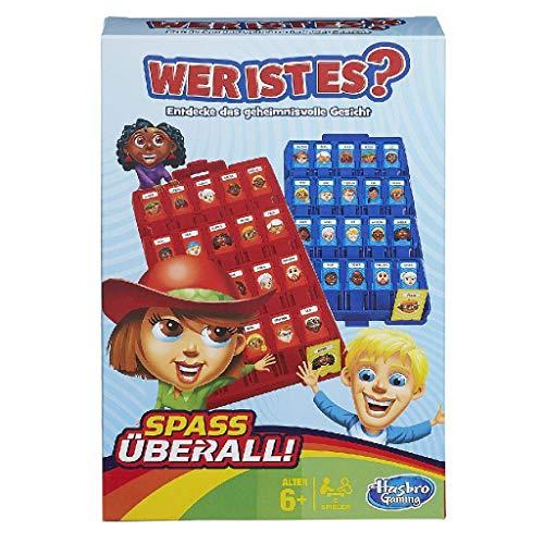 Hasbro Spiele B1204100 - Wer ist es? Kompakt, Reisespiel
