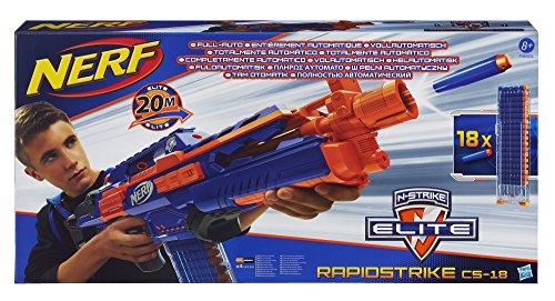 Hasbro Nerf A3901E24 - N-Strike Elitte Rapidstrike, Schießspielzeug