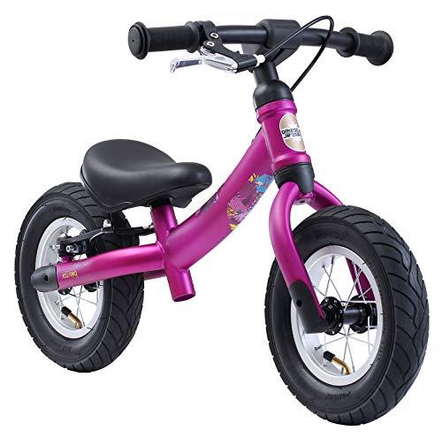 BIKESTAR Mitwachsendes Kinder Laufrad Lauflernrad Kinderrad für Mädchen ab 2 - 3 Jahre | 10 Zoll Sport...