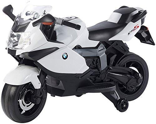 Playtastic Elektromotorrad: Original BMW-Lizenziertes elektrisches Kindermotorrad BMW K1300 S (Motorrad)