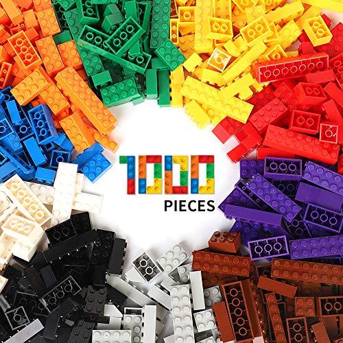 WYSWYG 1.5Kg Bausteine 1000 Teile Blöcke Building Bricks Block für 6 Jahren Herauf Kinder kompatibel...
