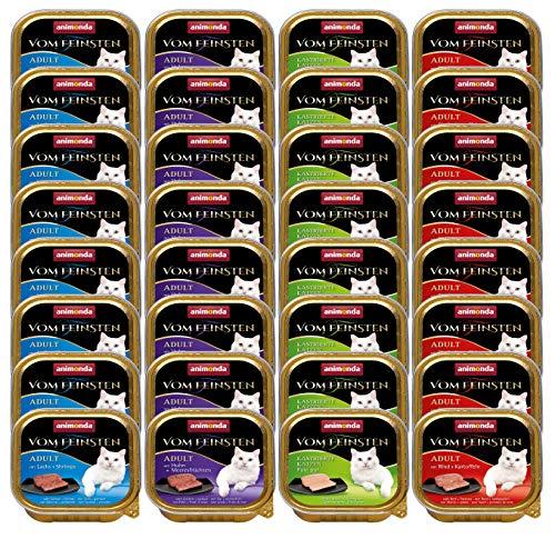 animonda Vom Feinsten Adult Katzenfutter, Nassfutter für ausgewachsene Katzen, Fisch & Fleisch Vielfalt,...