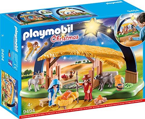 Playmobil -Lichterbogen Weihnachtskrippe