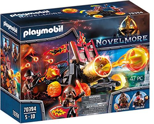 PLAYMOBIL Novelmore 70394 Lavabombarde, Für Kinder von 4-10 Jahren