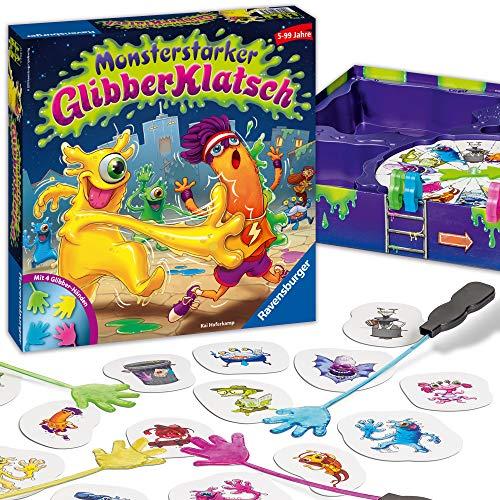 Ravensburger Kinderspiel Monsterstarker Glibber-Klatsch, Gesellschafts- und Familienspiel, für Kinder...