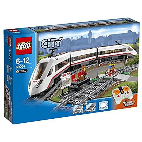 Spielzeug-Eisenbahn 'Hochgeschwindigkeitszug' von LEGO City