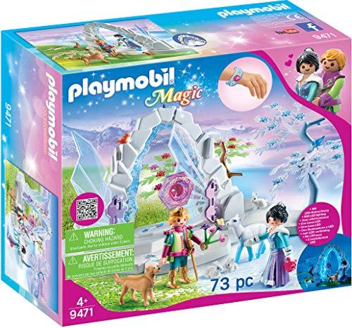 PLAYMOBIL Magic 9471 Kristalltor zur Winterwelt mit Lichteffekt und magischem Armreif, Ab 4 Jahren