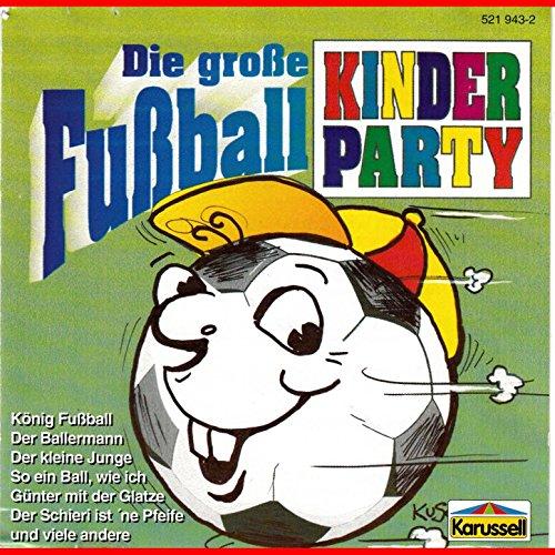 Die große Fußball Kinder Party
