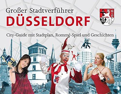 Stadtverführer / Großer Stadtverführer Düsseldorf: Rommé-Spiel als City-Guide mit Stadtplan und...
