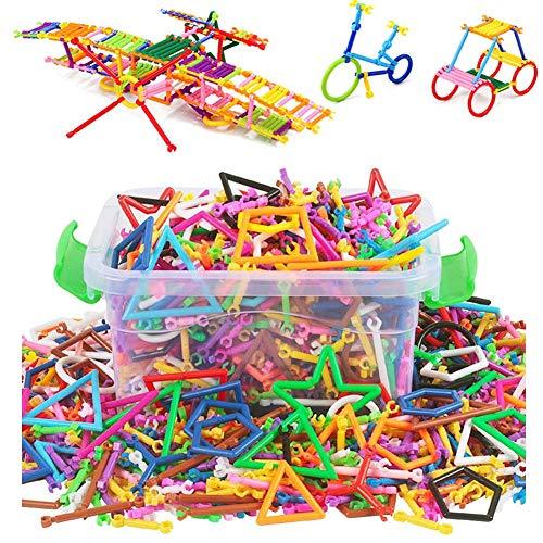 Qchomee 300/400 stücke Magnetische Bausteine Steckbausteine Spielzeug Pädagogisches Spielzeug kreative...