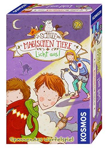 KOSMOS 711405 - Die Schule der magischen Tiere - Licht aus! Mitbringspiel, spannendes Würfelspiel für...