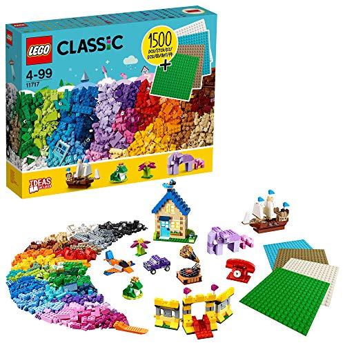 LEGO Classic 11717 Extragroße Steinebox mit Bauplatten 1504 Teile .