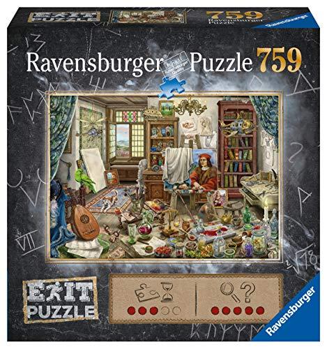 Ravensburger EXIT Puzzle 16782 - Künstleratelier - 759 Teile Puzzle für Erwachsene und Kinder ab 12...