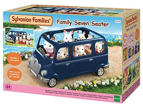 Sylvanian Families 5274 Familien-Siebensitzer - Puppenhaus Auto Spielset