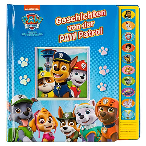 Geschichten von der PAW Patrol - Vorlese-Pappbilderbuch mit 10 lustigen Geräuschen für Kinder ab 3...