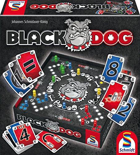 Schmidt Spiele 49323 Black Dog, Spiel und Puzzle, schwarz