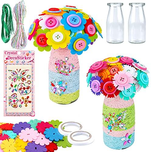 Basteln für Mädchen 6 7 8 9 10 Jahre, Bastelset Spielzeug für Kinder ab 4 5 6 7 8 Jahre Mädchen...