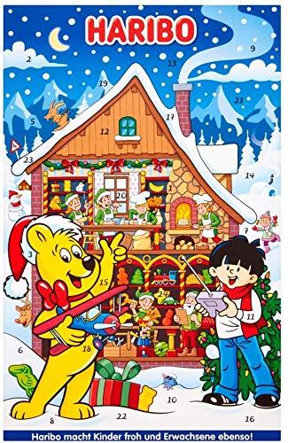 Haribo Adventskalender, Weihnachtsgebäck, 300g