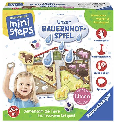 Ravensburger: Mini Steps - Unser Bauernhof-Spiel
