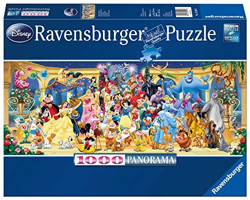 Ravensburger Puzzle 15109 - Disney Gruppenfoto - 1000 Teile Puzzle für Erwachsene und Kinder ab 14...